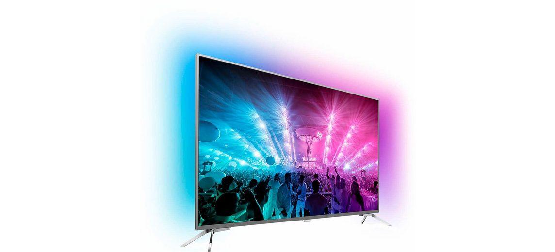 Philips 55PUS7101/12, LED Fernseher, 139 cm (55 Zoll), 2160p (4K Ultra HD) Ambilight, Smart-TV