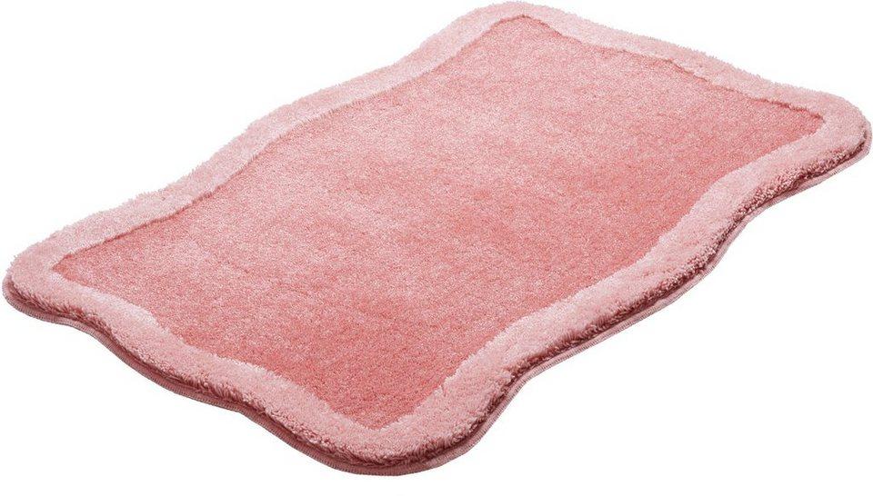 Badematte, GRUND, »Tutti«, Höhe 20 mm, rutschhemmender Rücken in rosé
