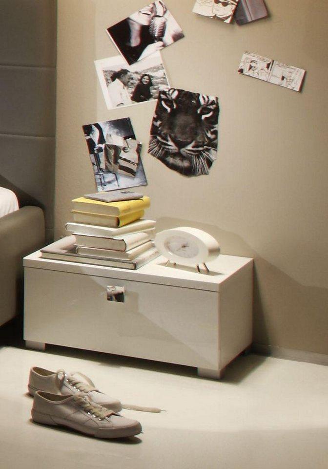 LC Nachttisch in weiß