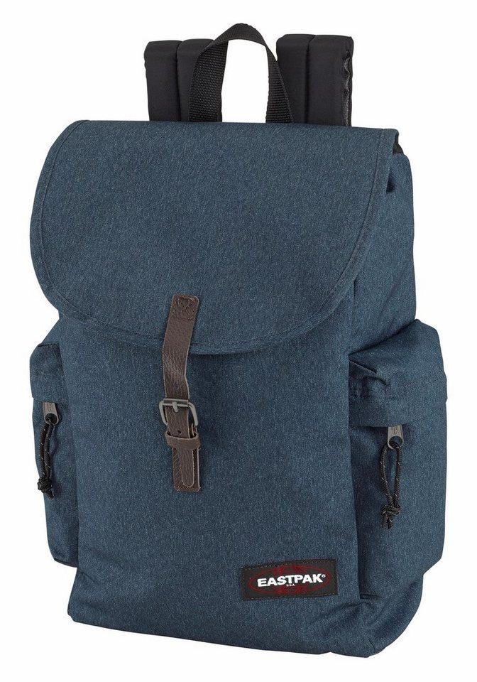 Eastpak AUSTIN Rucksack in blau meliert