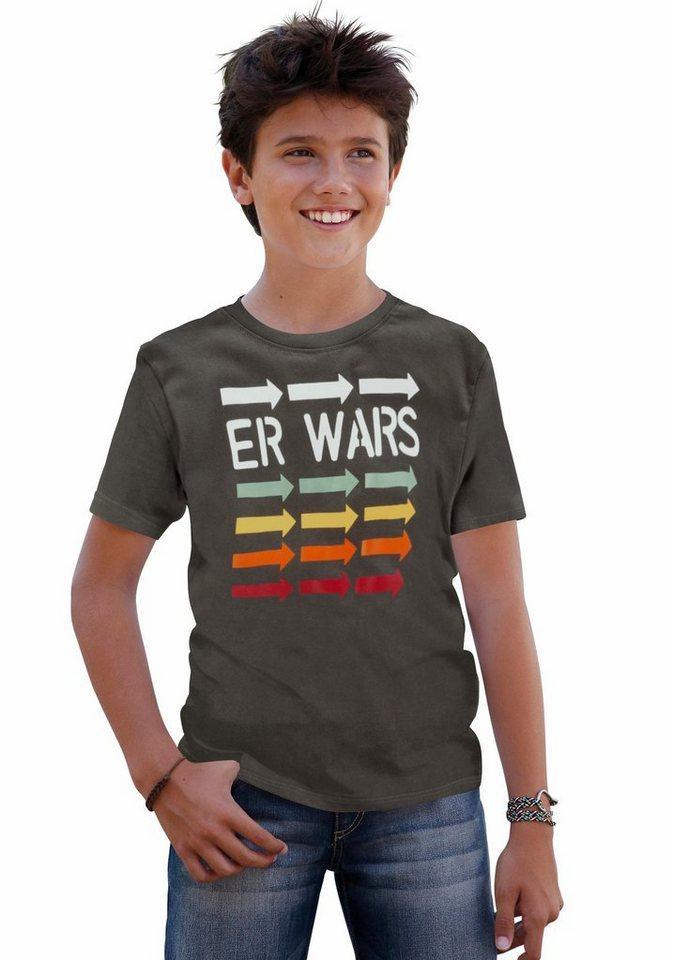 """CFL T-Shirt """"Er wars"""" in anthrazit"""
