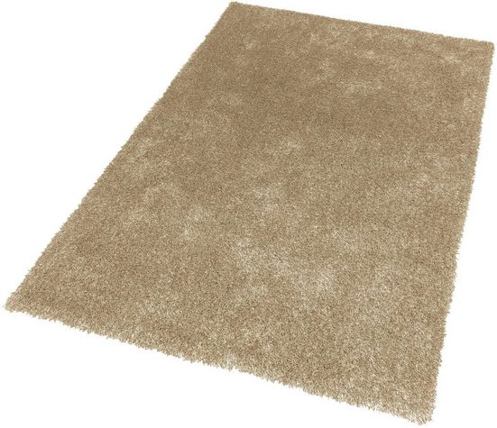 Hochflor-Teppich »New Feeling«, SCHÖNER WOHNEN-Kollektion, rechteckig, Höhe 40 mm, Besonders weich durch Microfaser