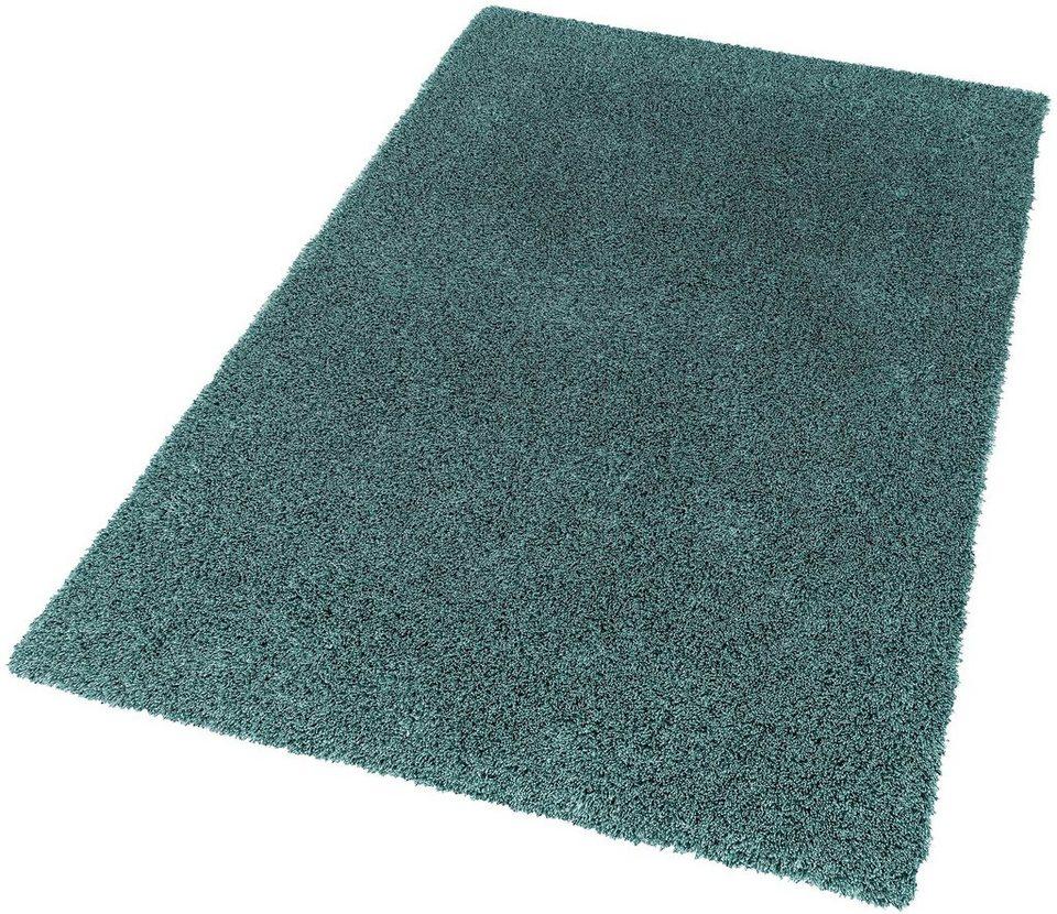 Hochflor-Teppich, Schöner Wohnen, »New Feeling«, Höhe 40 mm, getuftet in mint