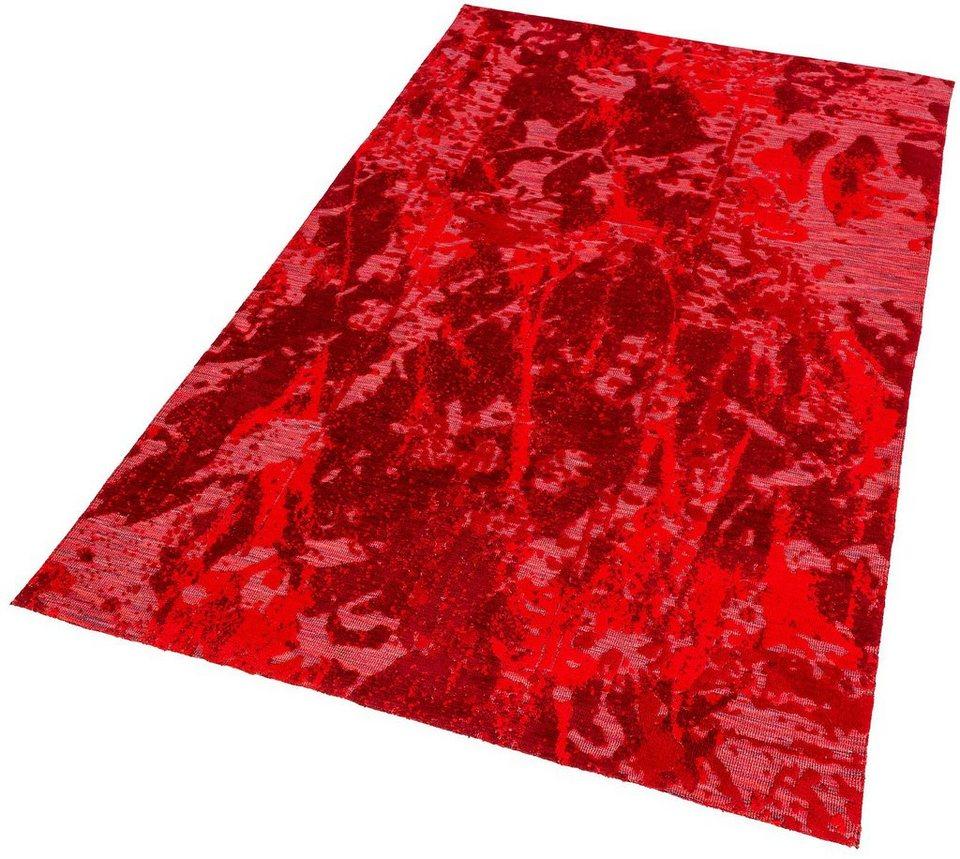 Teppich, Astra, »Teramo Floral«, gewebt in rot