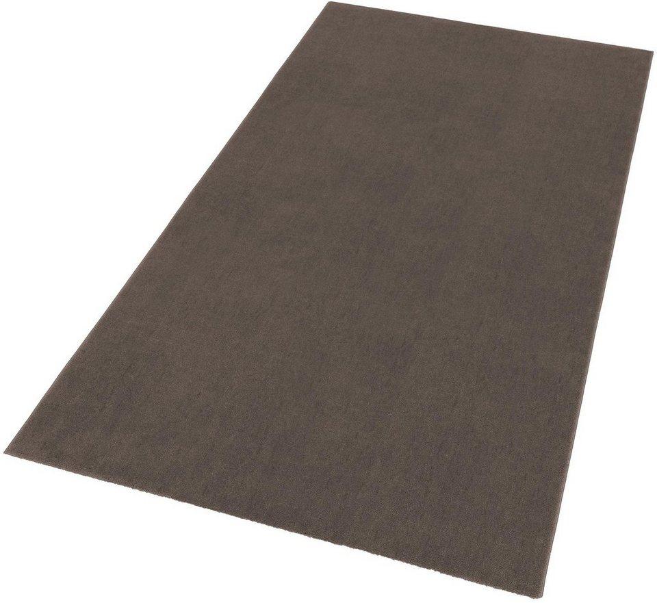 Teppich, Astra, »Pisa«, gewebt in taupe