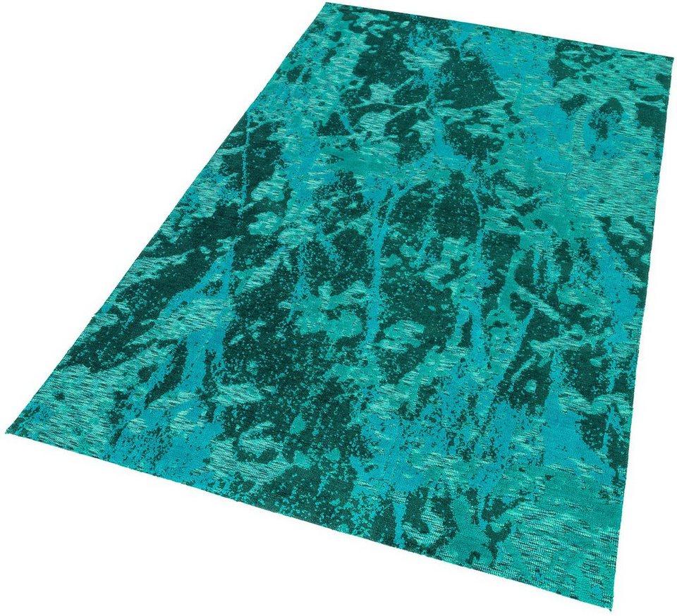 Teppich, Astra, »Teramo Floral«, gewebt in türkis