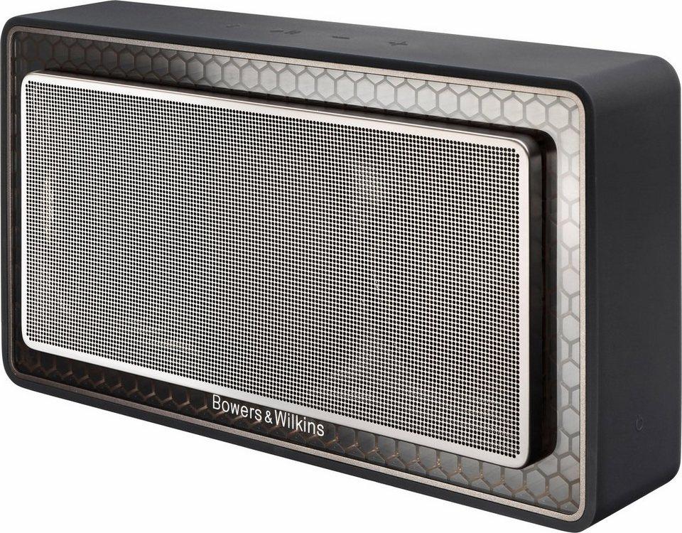 Bowers & Wilkins T7 Bluetooth-Lautsprecher in schwarz