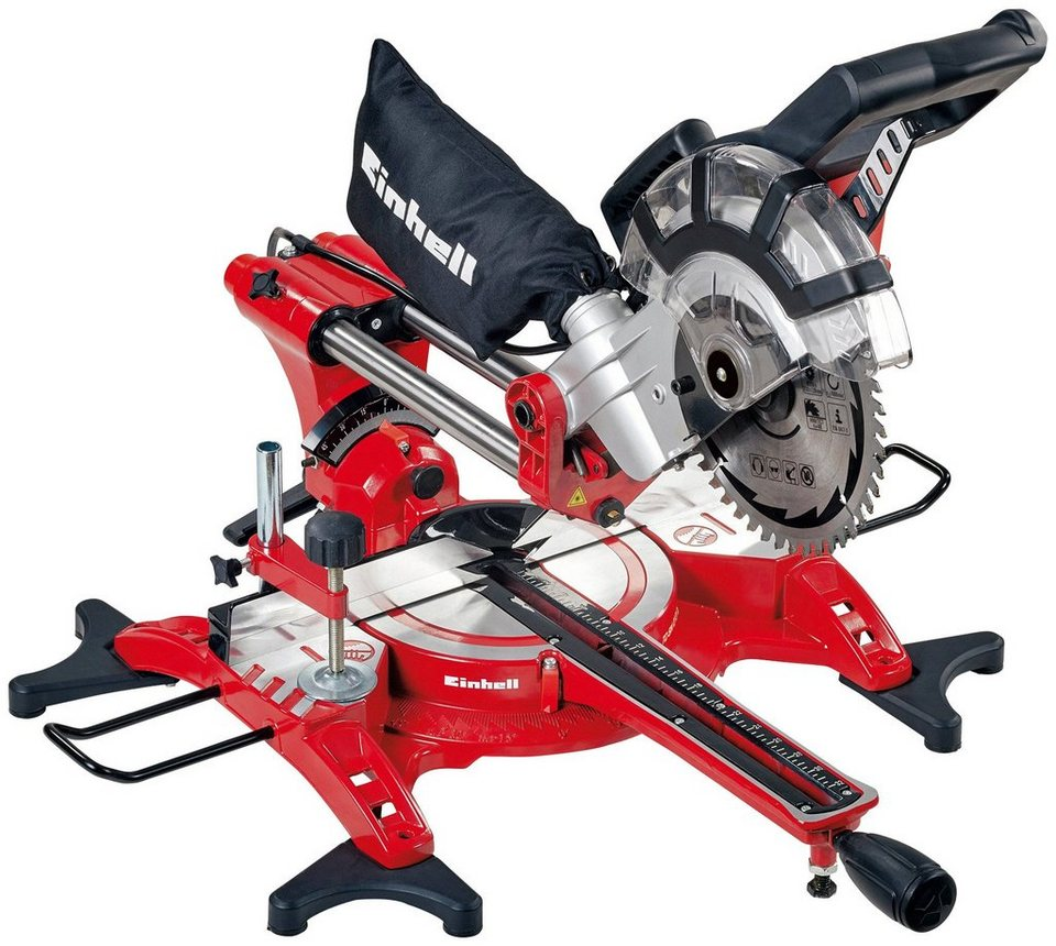 Einhell zug kapp gehrungss ge tc sm 2131 dual otto for Troncatrice parkside