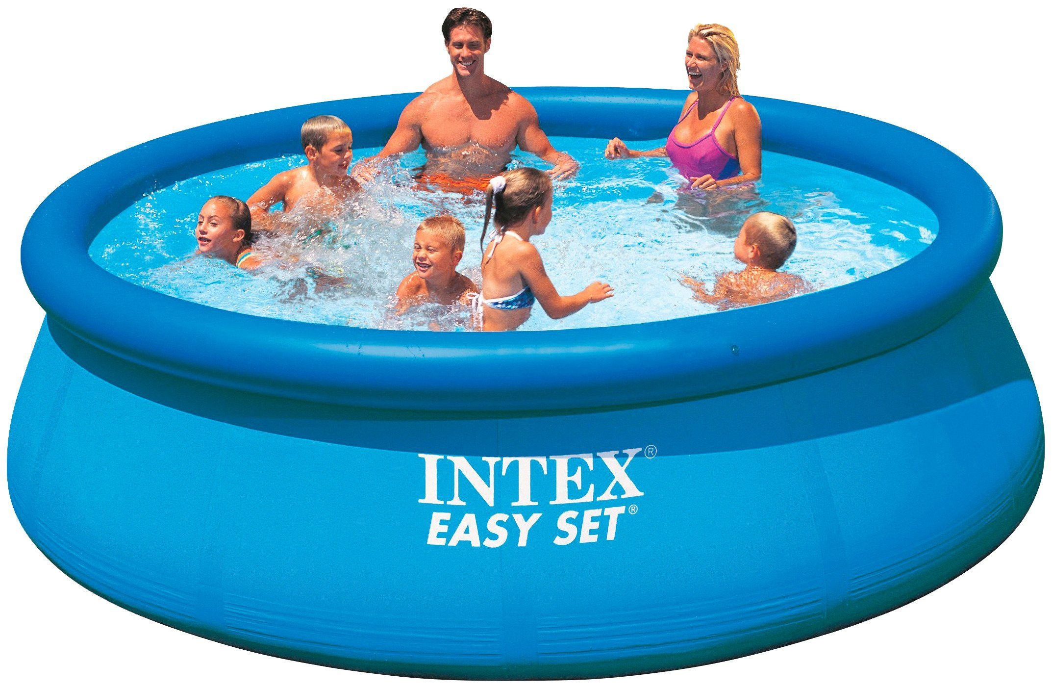 Intex Quick-Up Pool »Easy Pool«, ØxH: 366x76 cm, 2 tlg.