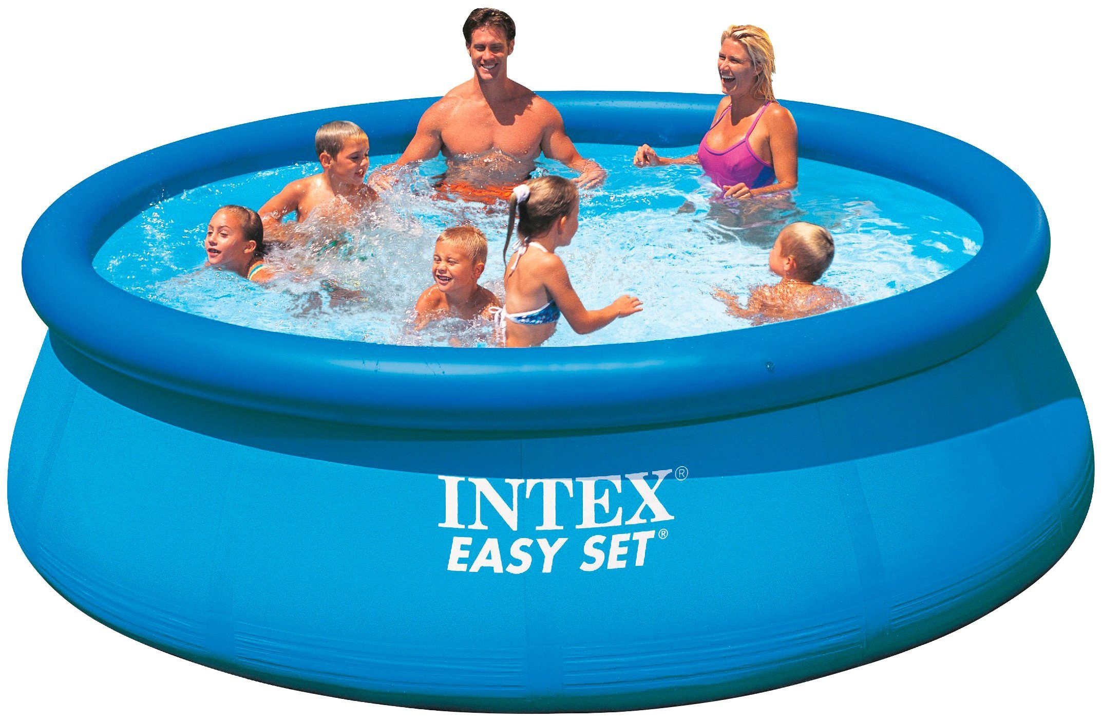 Intex Quick-Up Pool »Easy Pool«, ØxH: 396x84 cm, 2 tlg.