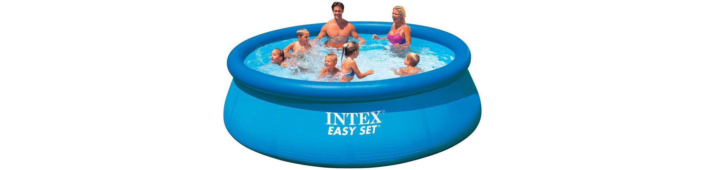 Quick-Up Pool »Easy Pool«, ØxH: 396x84 cm, 2 tlg.