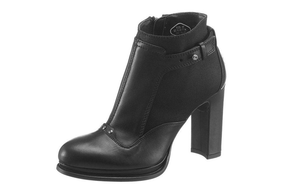 G-Star High-Heel-Stiefelette in schwarz