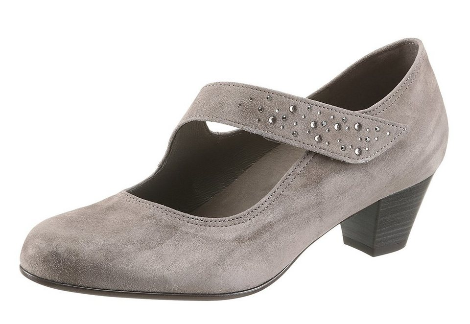 Gabor Spangenpumps in taupe
