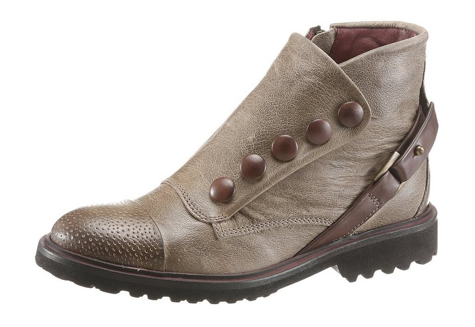 DKODE Sommerboots in taupe-braun
