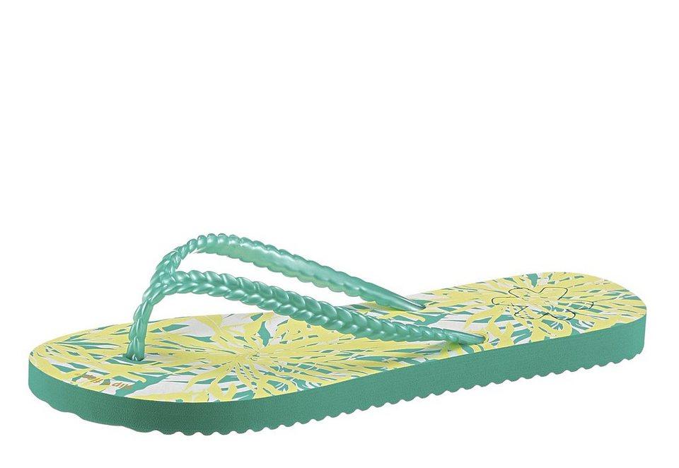 flip*flop Zehentrenner mit Shiny Finsh in aqua