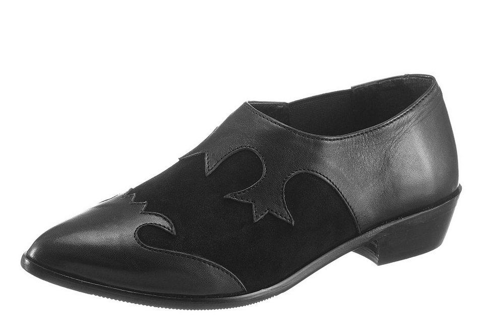 Vero Moda Slipper im Western-Style in schwarz