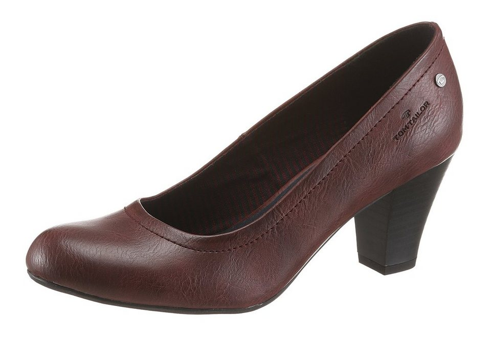 Tom Tailor Pumps in bordeaux-used