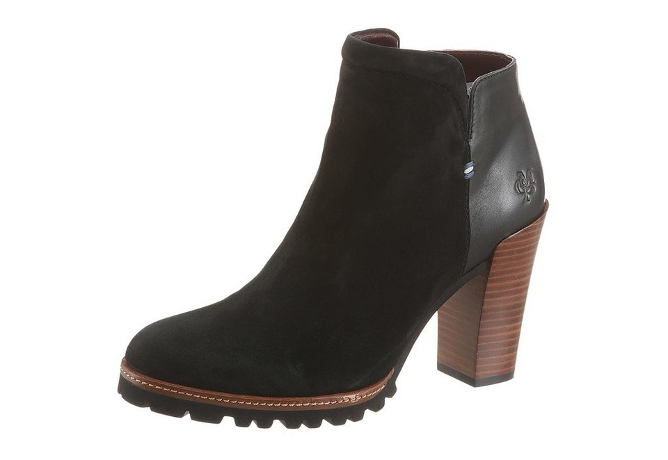 Marc O'Polo High-Heel-Stiefelette in schwarz