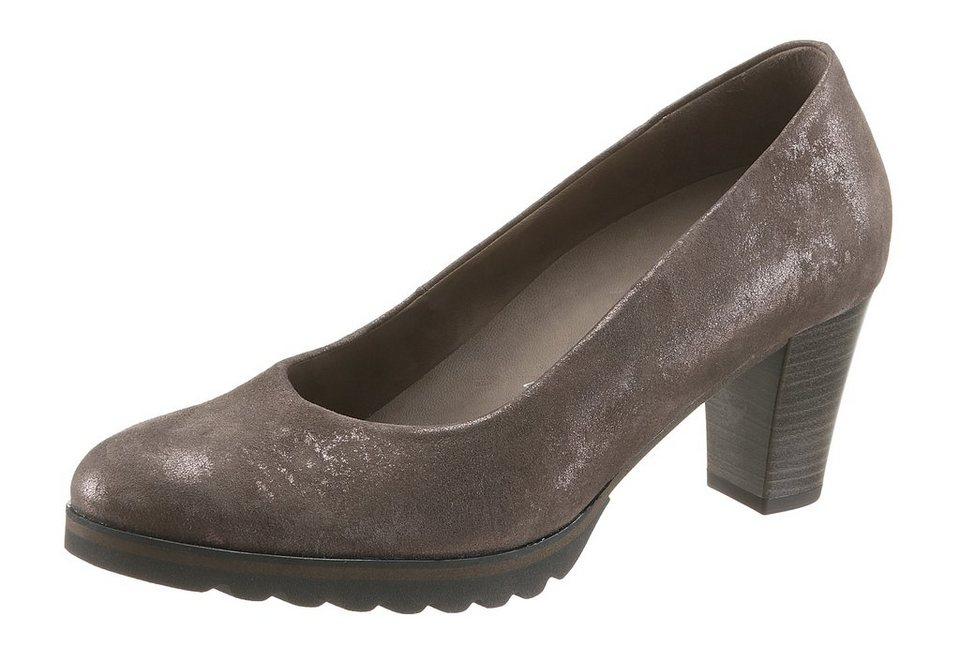 Gabor Pumps in taupe