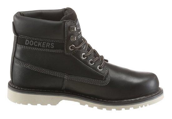 """Dockers by Gerli Schnürstiefel, mit rahmengenähter Machart """"Goodyear welted"""""""