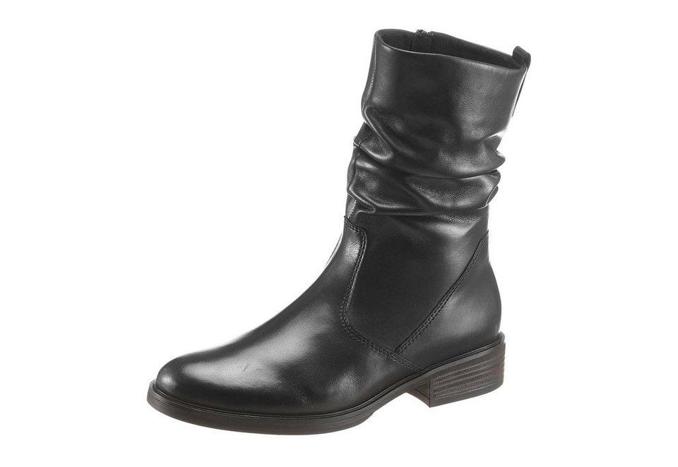 Gabor Stiefel in schwarz