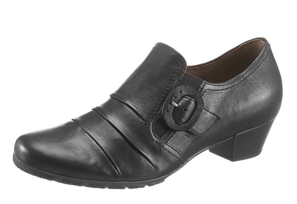 Gabor Hochfrontpumps in schwarz