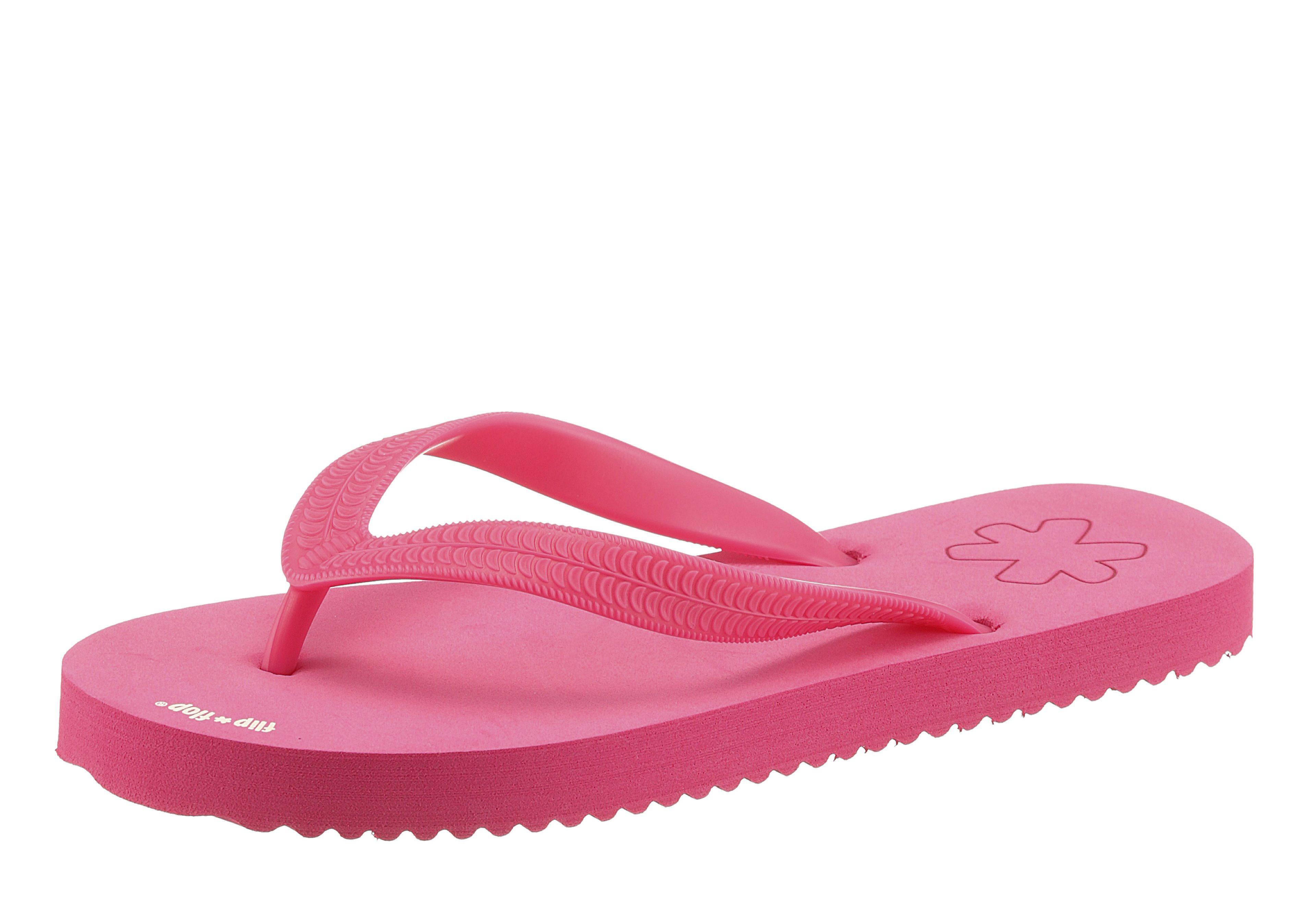 Flip Flop Zehentrenner, frei von tierischen Bestandteilen online kaufen  pink