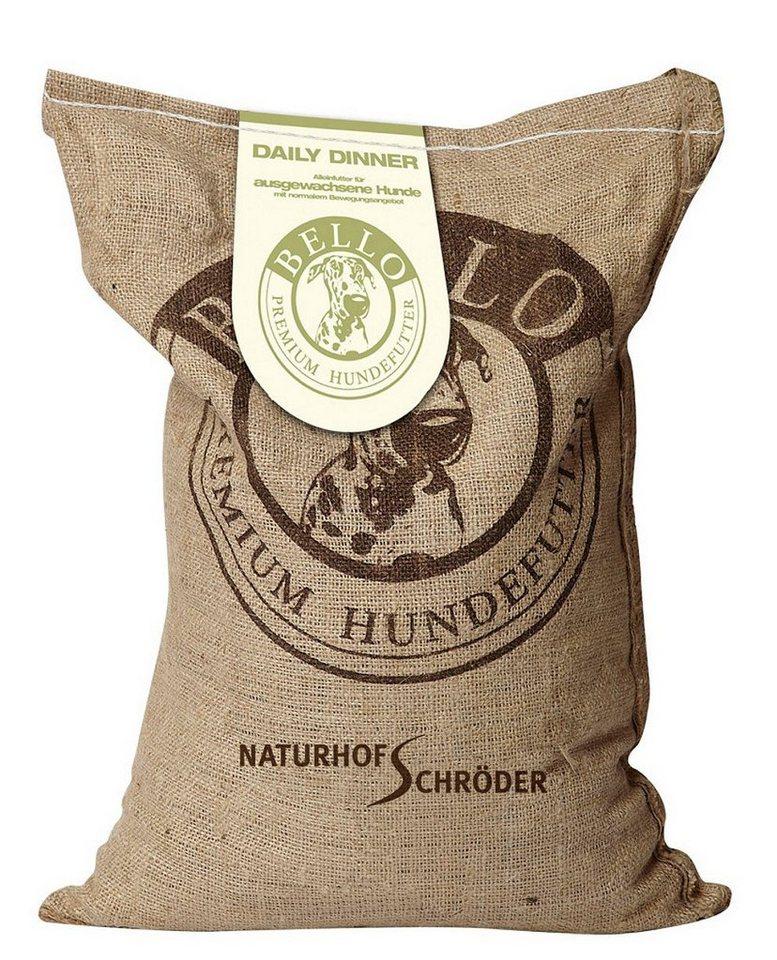 Hundetrockenfutter »Daily Dinner«, 7,5 kg in braun