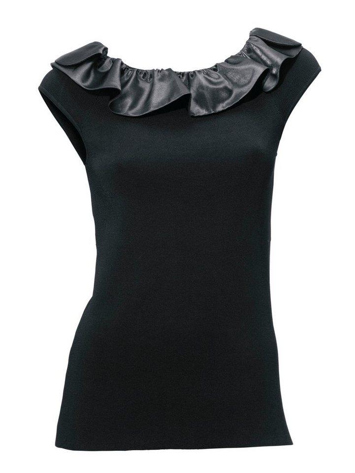 Shirttop in schwarz
