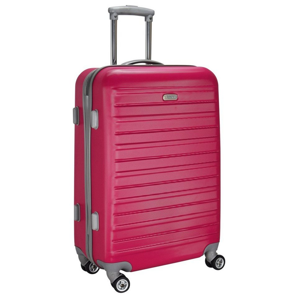 d & n Scion Travel Line 9400 4-Rollen Trolley-Set 2-tlg. in pink