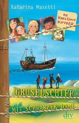 Gebundenes Buch »Gruselschiff mit schwarzer Dame / Die...«