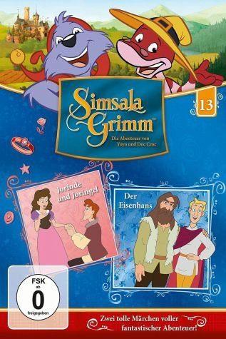 DVD »SimsalaGrimm 13 - Jorinde und Joringel / Der...«
