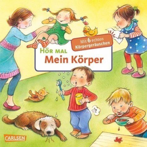 Buch mit Papp-Einband »Mein Körper / Hör mal Bd.19«