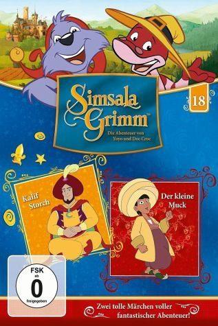 DVD »SimsalaGrimm 18 - Kalif Storch / Der kleine Muck«