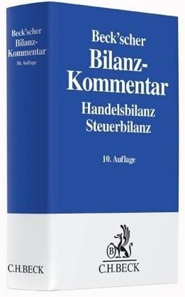 Buch mit Leinen-Einband »Beck'scher Bilanz-Kommentar«