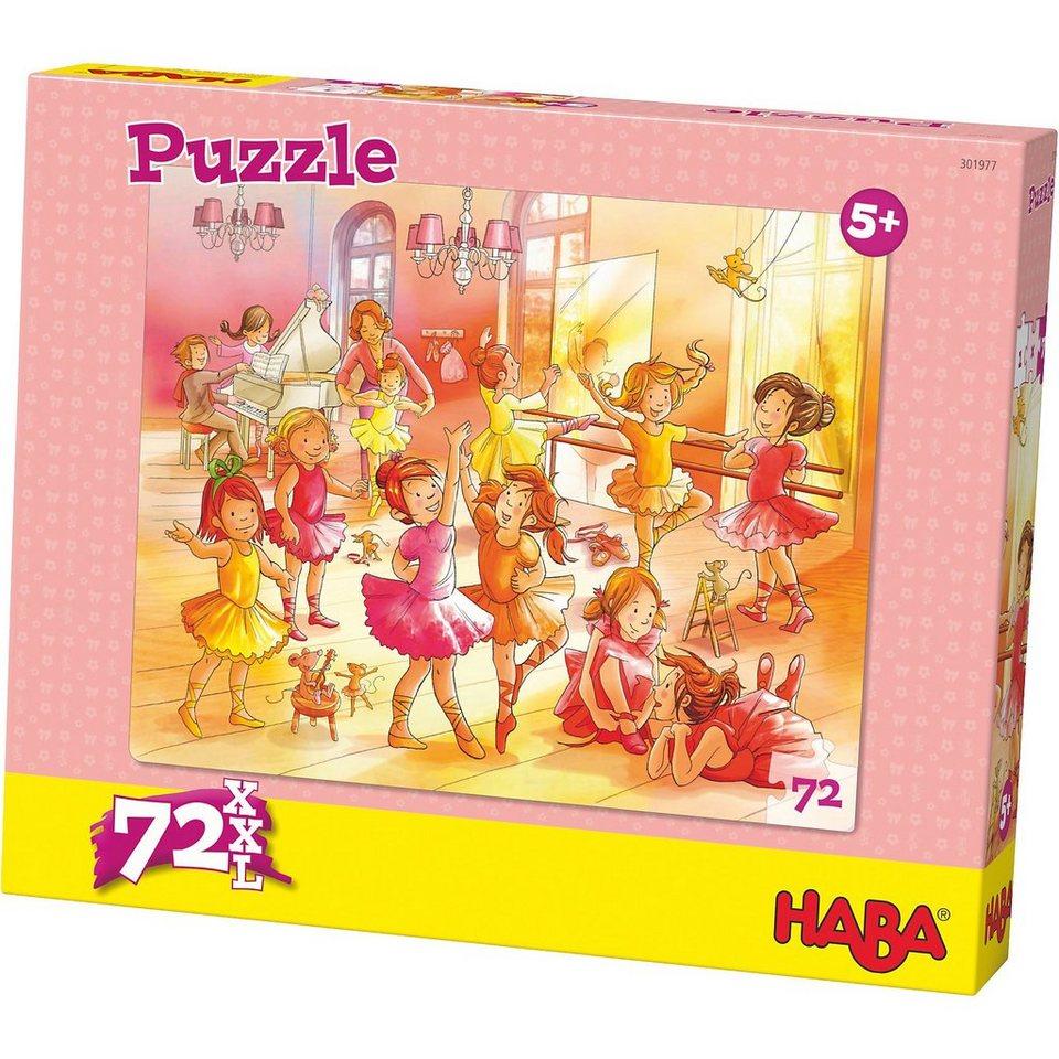 Haba Puzzle 72 XL Teile - Ballerinas