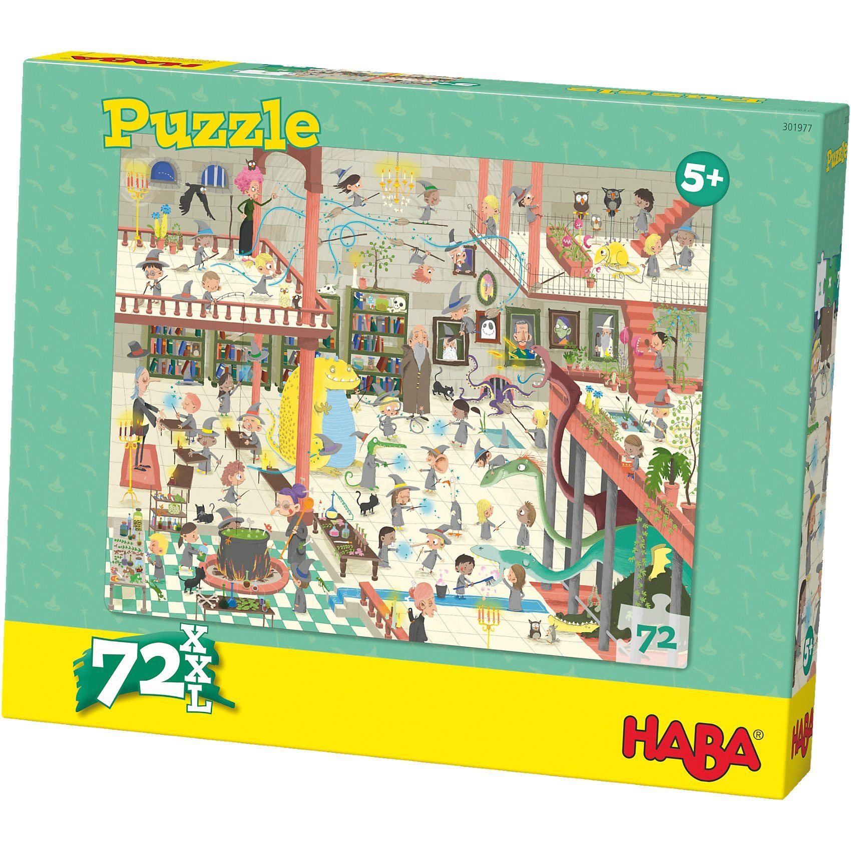 Haba Puzzle 72 XL Teile - Zauberschule