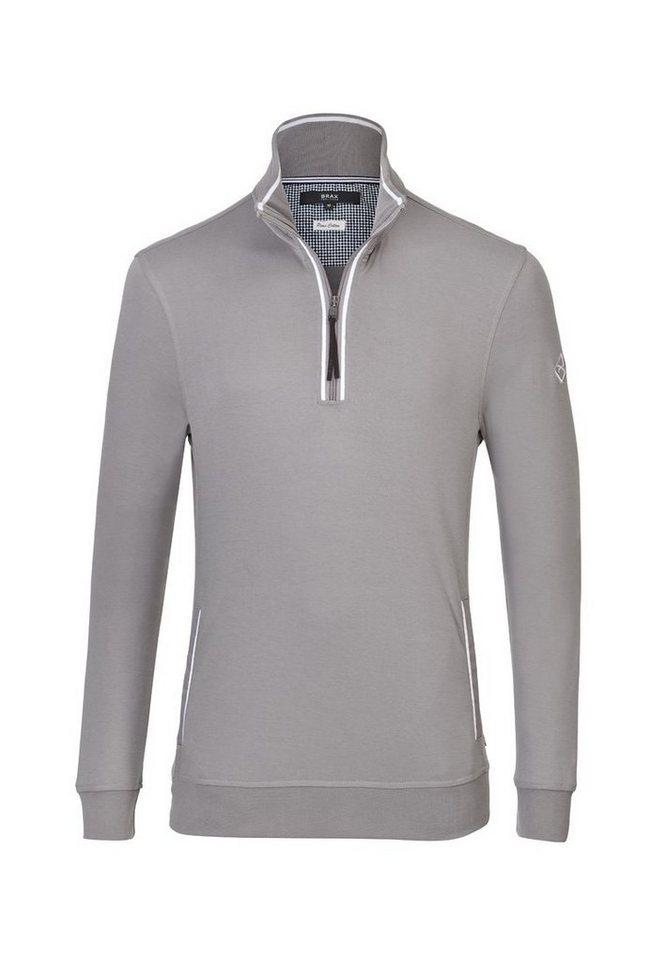 BRAX Herrensweatshirt »SARTO« in SLATE