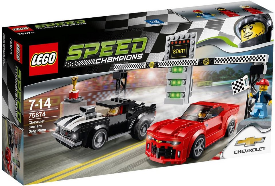 LEGO®, Chevrolet Camaro Drag Race (75874), »LEGO® Speed Champions«