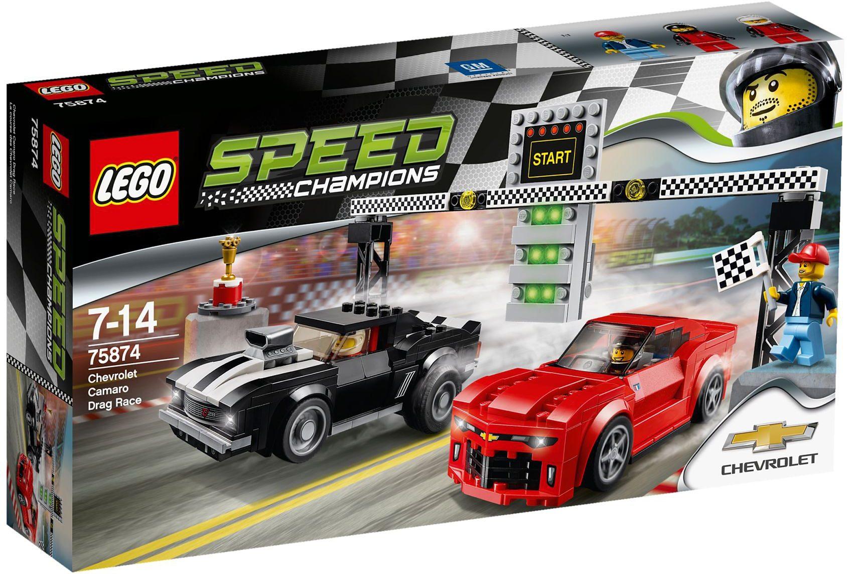 LEGO®, Chevrolet Camaro Drag Race (75874), »LEGO® Speed Champions«
