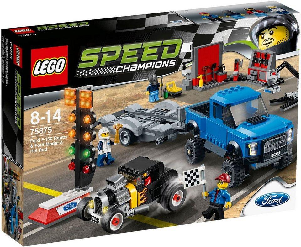 LEGO® Ford F-150 Raptor & Ford Model A Hot Rod (75875), »LEGO® Speed Champions«