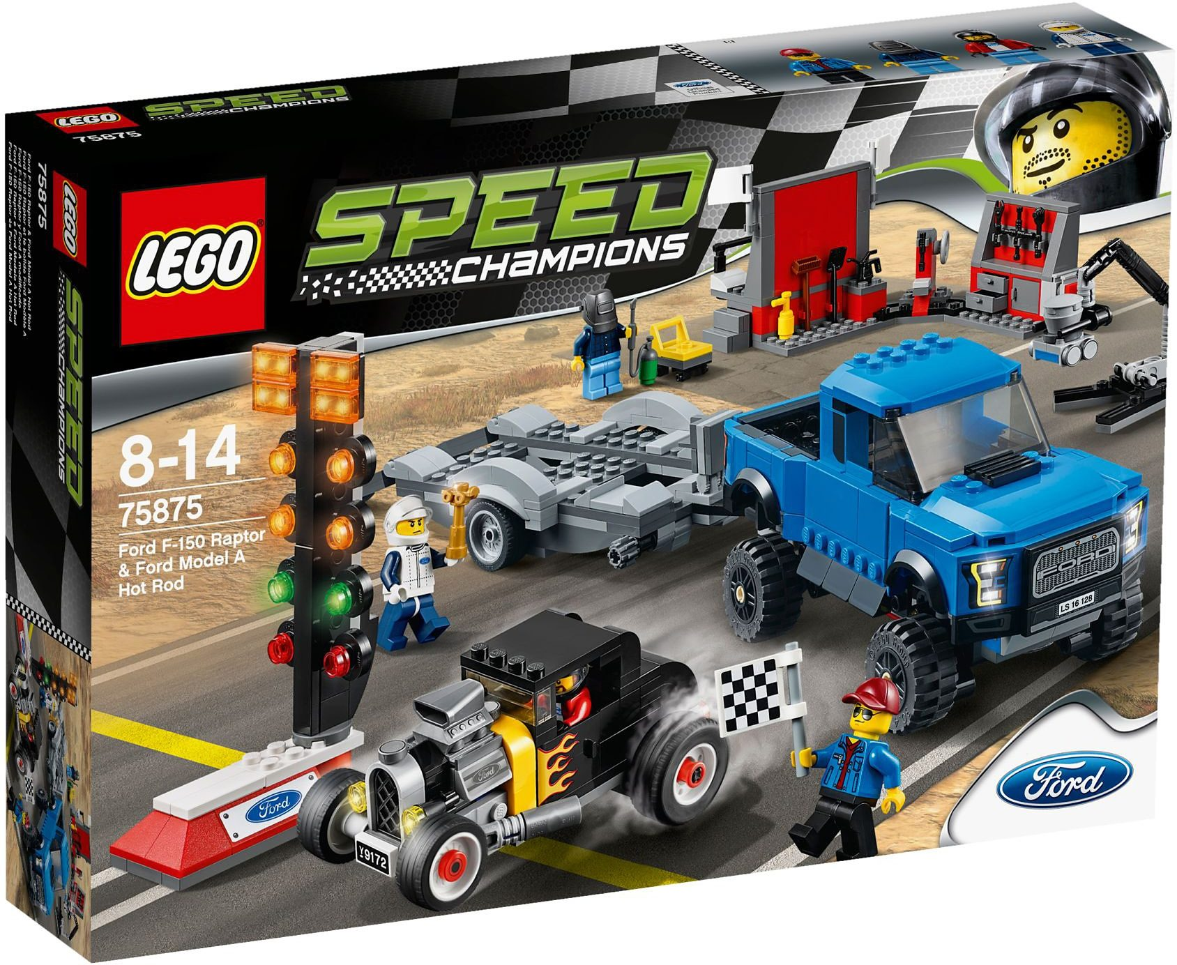 LEGO®, Ford F-150 Raptor & Ford Model A Hot Rod (75875), »LEGO® Speed Champions«