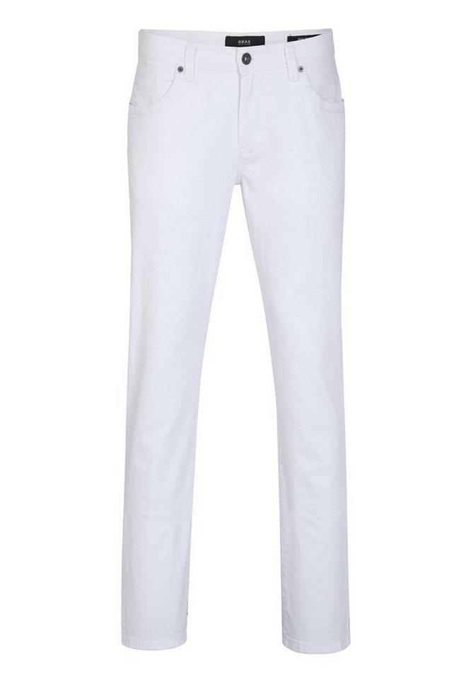 BRAX Jeans »CADIZ« in WHITE