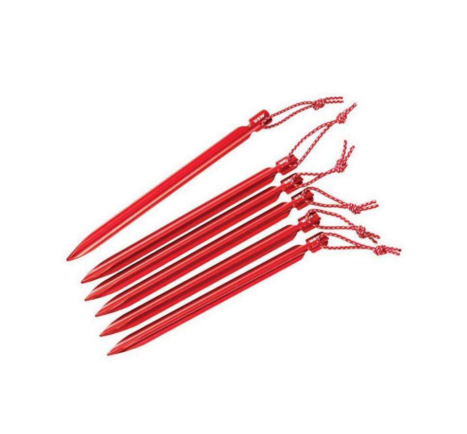 MSR Zelt »Mini Groundhog Stake Kit« in rot