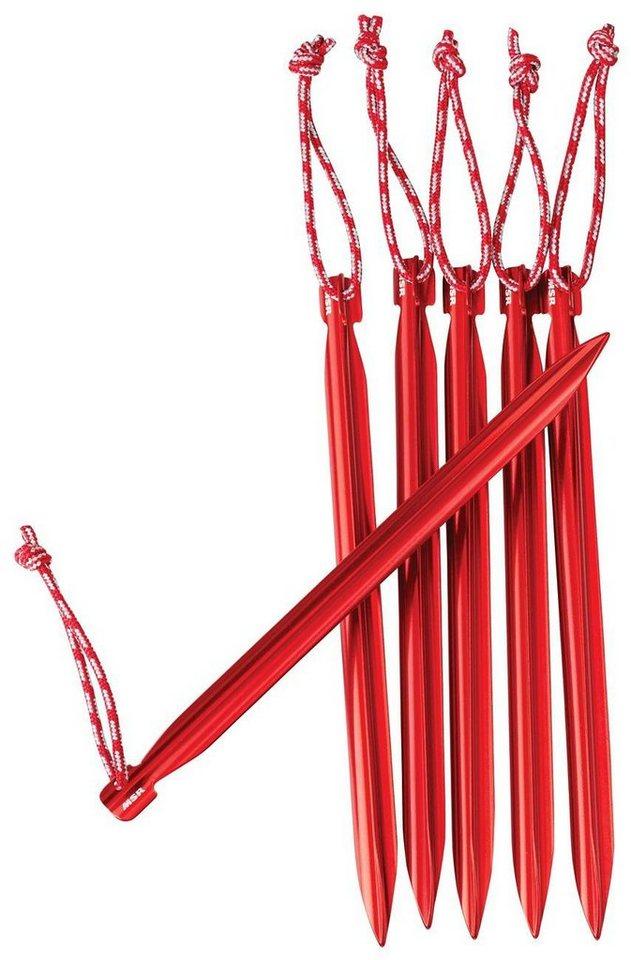 MSR Zeltzubehör »Groundhog Stake Kit« in rot