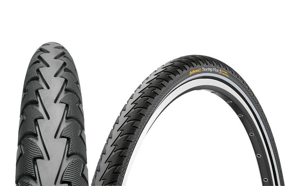 Continental Fahrradreifen »Touring Plus 28 x 1,60 Zoll Draht Reflex«
