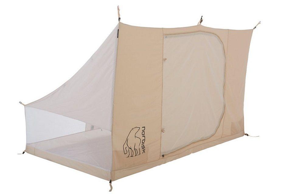 Nordisk Zelt »Utgard 13.2 m² Inner Cabin Technical Cotton« in beige