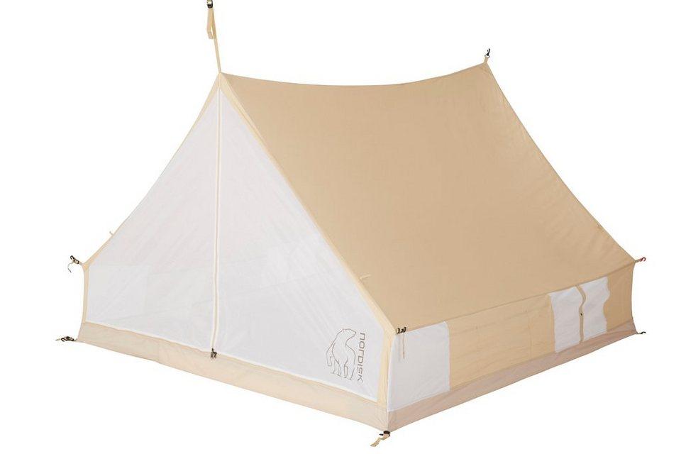 Nordisk Zeltzubehör »Ydun 5.5 m² Inner Cabin Technical Cotton« in beige