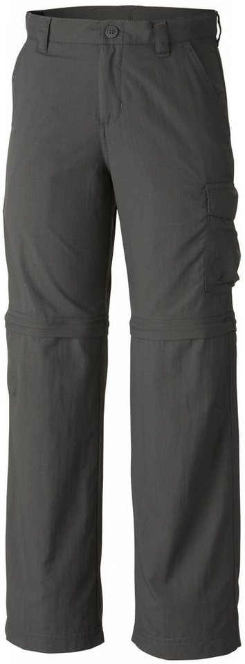 Columbia Hose »Silver Ridge III Convertible Pant Boys« in grau