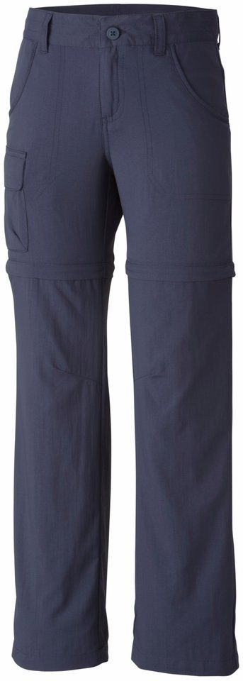 Columbia Hose »Silver Ridge III Convertible Pant Girls« in blau
